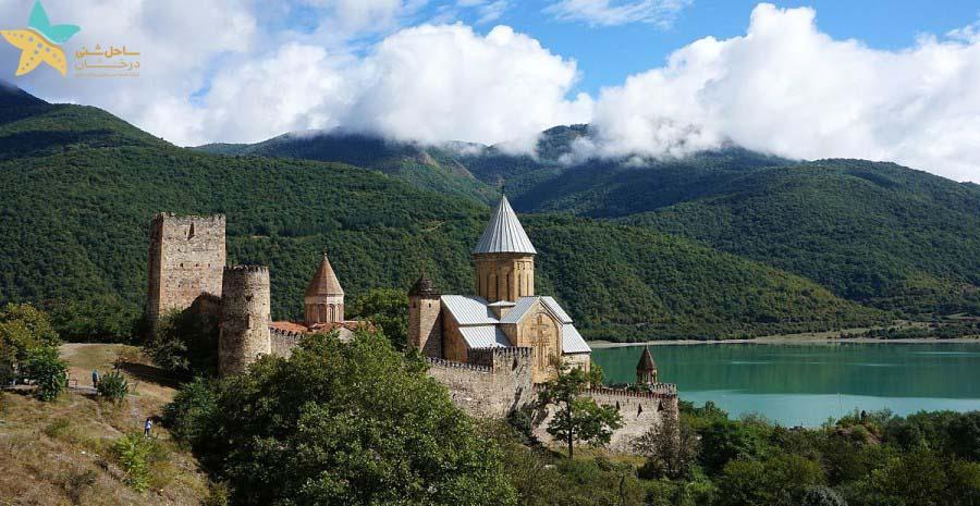 قلعه آنانوری - جاذبه های گردشگری گرجستان