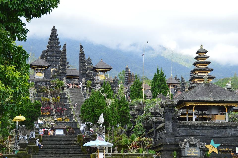 جاذبه های اندونزی معبد مادر