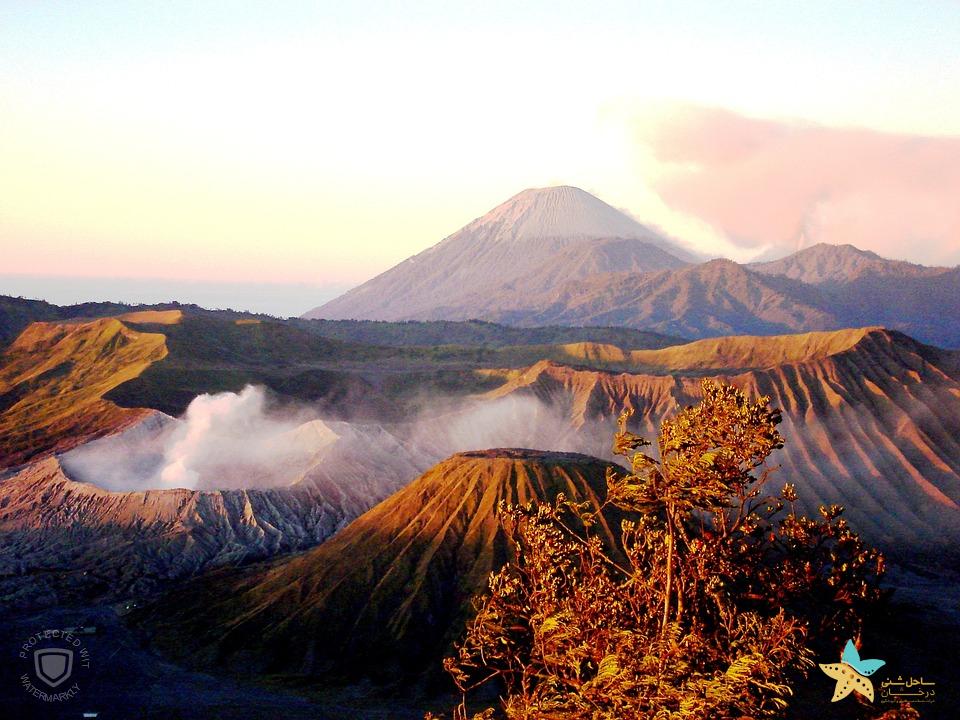 جاذبه های اندونزی -کوه برومو