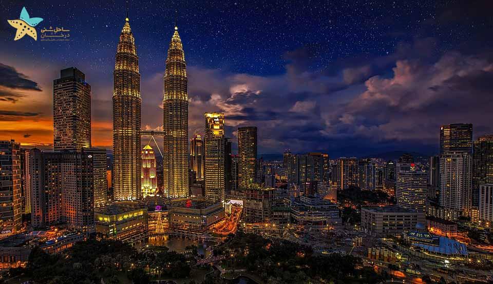 جاذبه های گردشگری مالزی - برجهای دوقلوی پتروناس