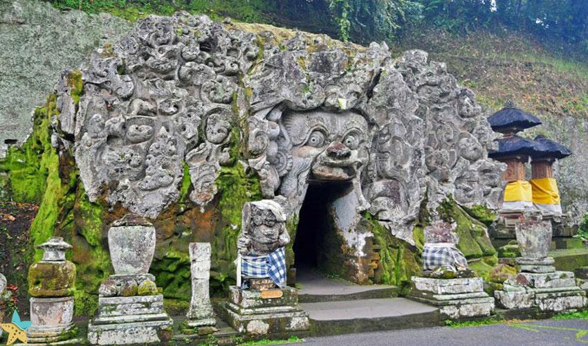 غار فیل [گوا گاجا] اوبود بالی
