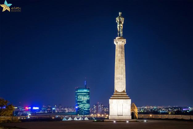 مجسمه قهرمان - بلگراد