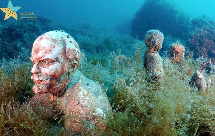موزه مجسمه زیر آب - جاذبه های گردشگری روسیه