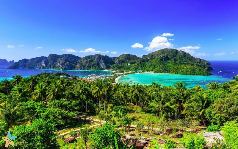 گشتوگذاری در جزایر فی فی   بهشت تایلند