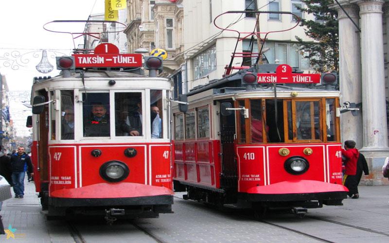 گشتوگذاری در خیابان استقلال استانبول | بهترین خیابان استانبول