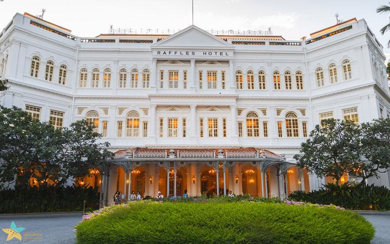 هتل رافلز | تور سنگاپور