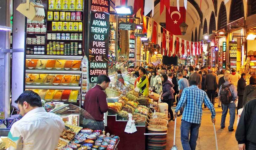 نگاهی به بازار بزرگ استانبول | بازاری 500 ساله