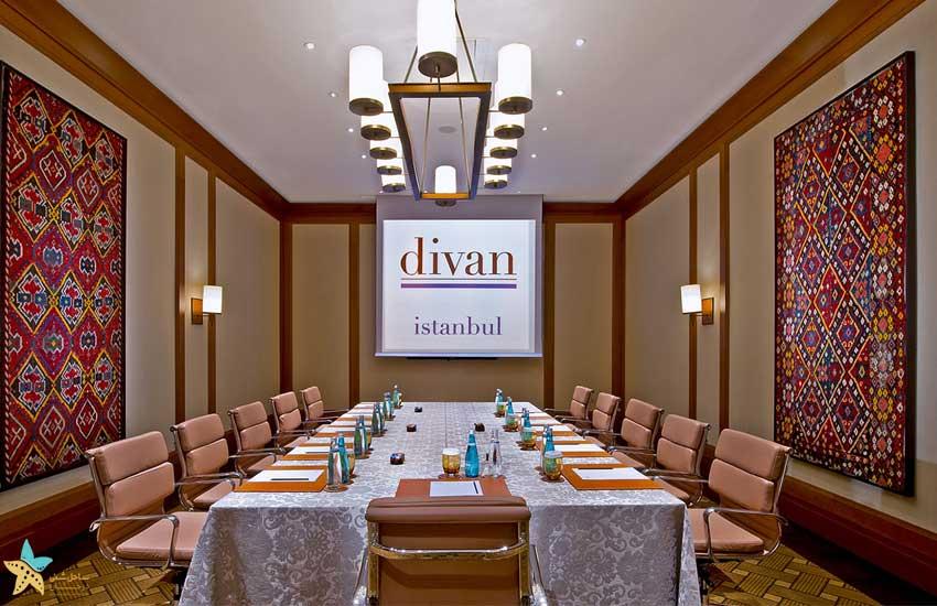 اتاق مخصوص جلسه هتل دیوان