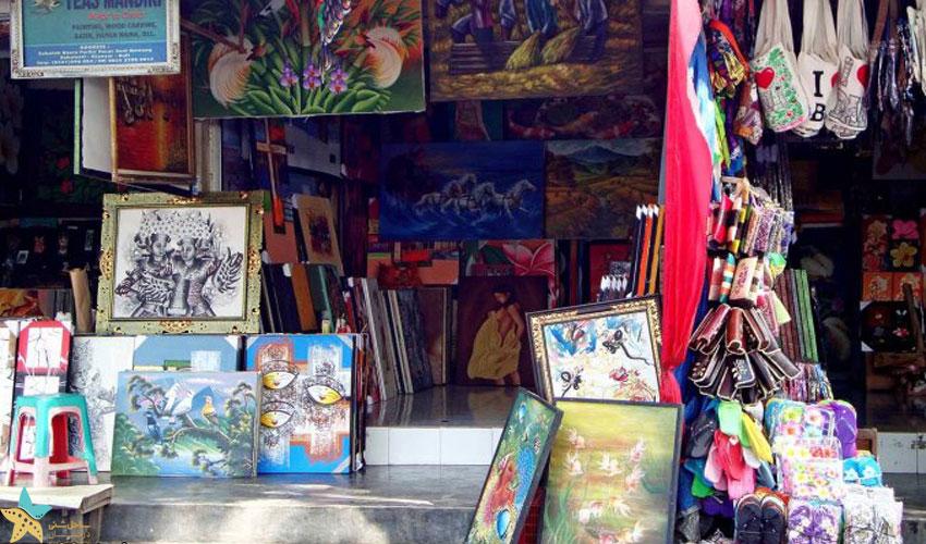 3- بازار هنر گوانگ [Guwang] در اوبود