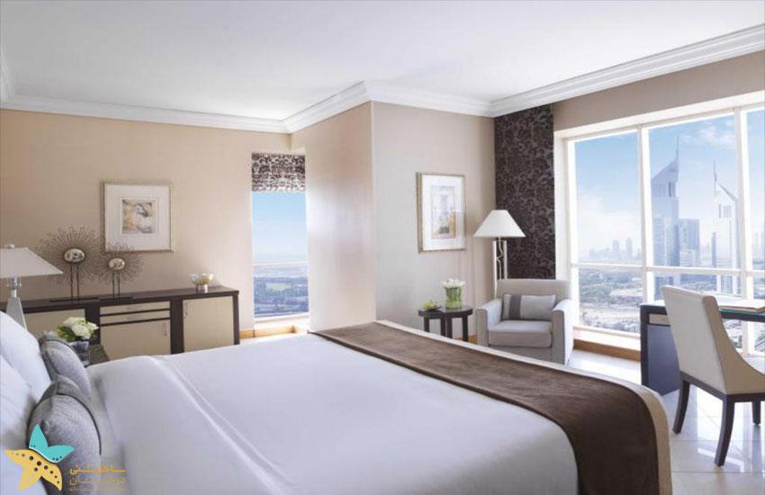 اتاقهای هتل فیرمونت دبی