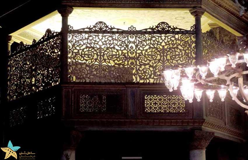 اتاق سلطان مسجد ایاصوفیه