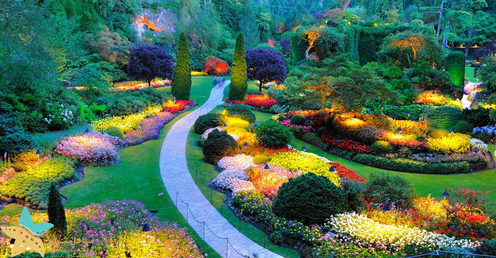 باغهای بوچارت