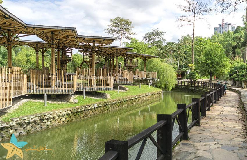 باغ دریاچه کوالالامپور