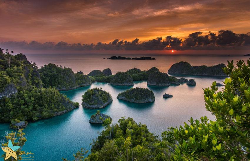 جزایر راجا آمپات | جزیرهی Pianemo
