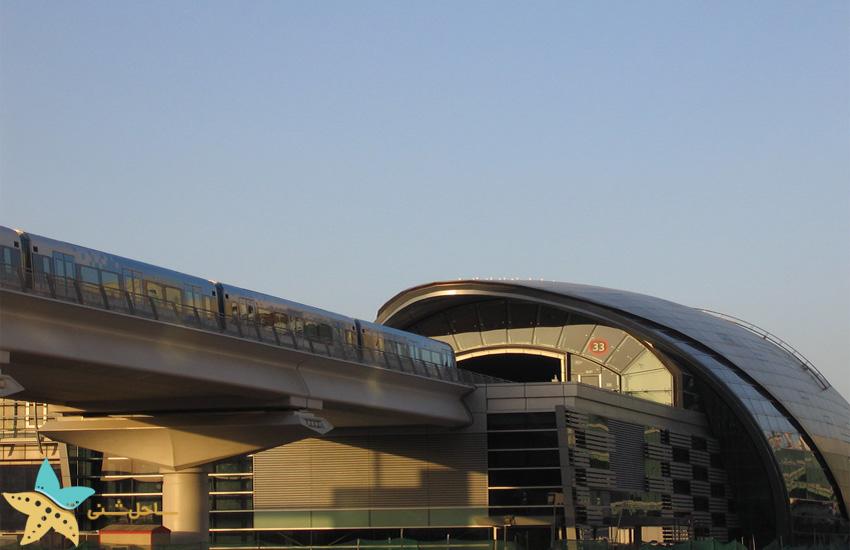حمل و نقل در دبی مارینا