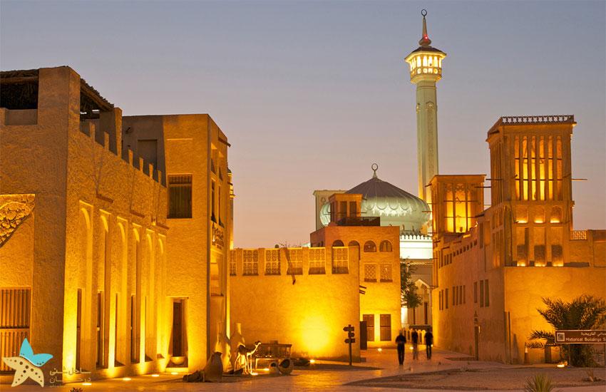 جاهای دیدنی دبی | خانه شیخ سعید آل مکتوم