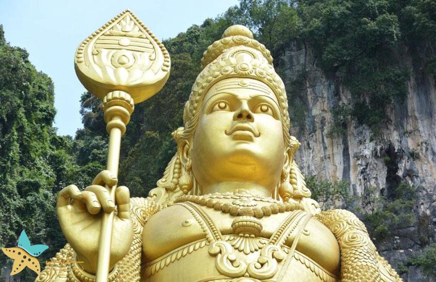 مجسمه مورگان | معبد باتو کیوز