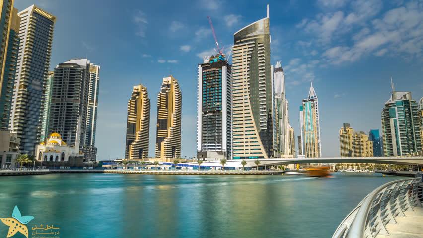 دبی مارینا - جاذبه های گردشگری دبی
