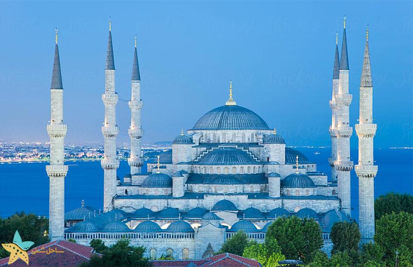 معروفترین مساجد استانبول | مسجد آبی [مسجد سلطان احمد] استانبول