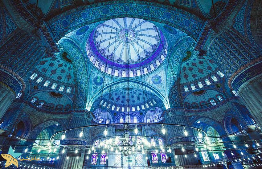 مسجد آبی [مسجد سلطان احمد] استانبول