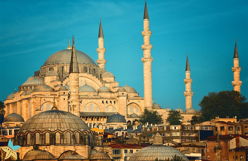 مسجد سلیمانیه استانبول   معروف ترین مساجد استانبول