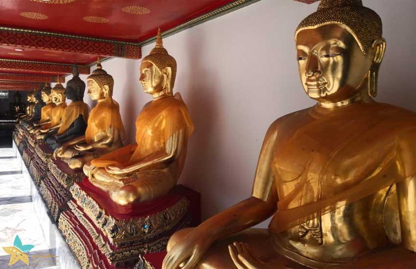 مجسمه های معبد