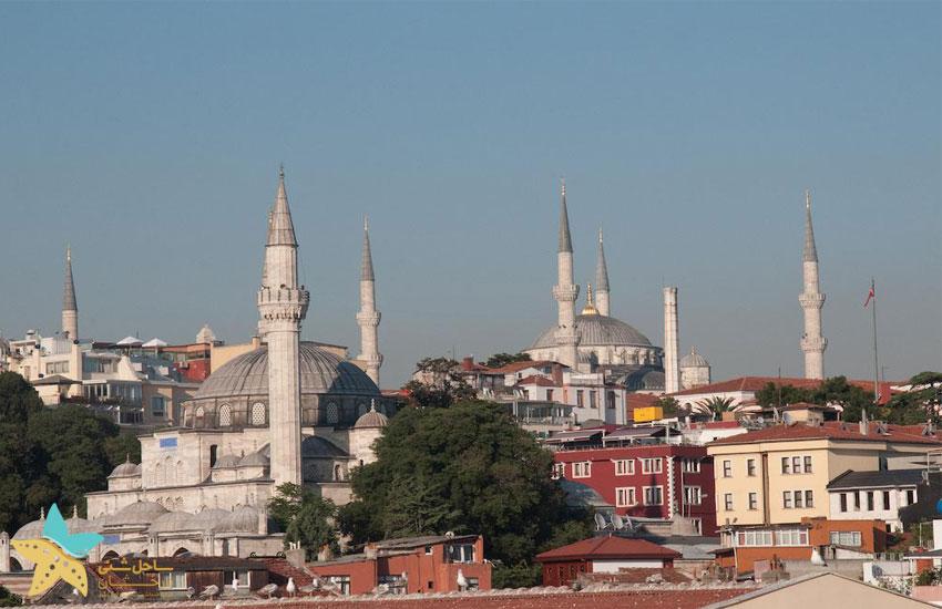 ویوی هتل = مسجد آبی