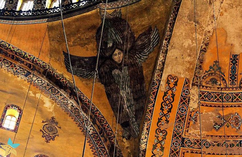 نقاشی موزائیک میکائیل (Michael)