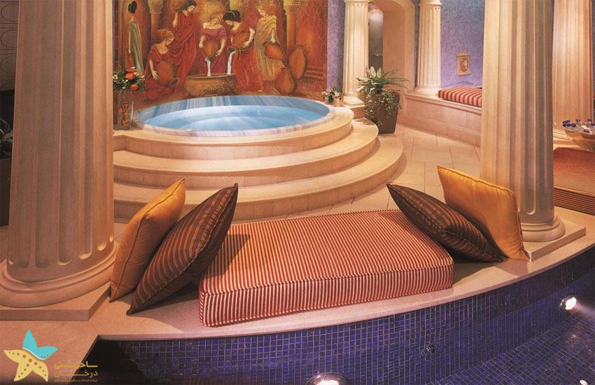 حمام هتل فیرمونت دبی