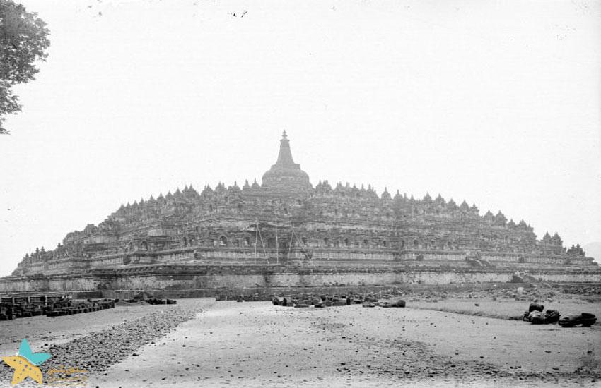 معبد پس از بازسازی در سال 1911