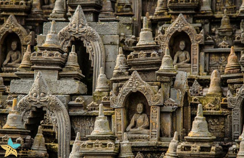 نگاهی کامل به معبد بوروبودور اندونزی
