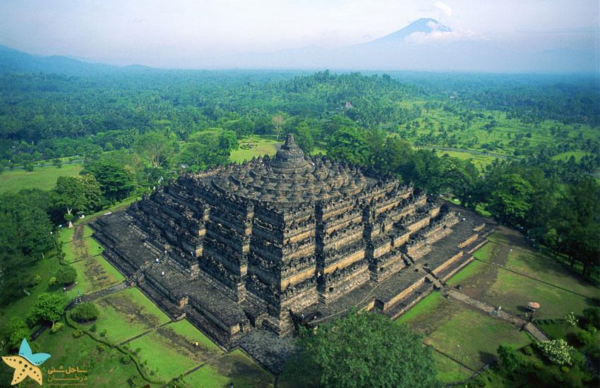 معبد بوروبودور اندونزی