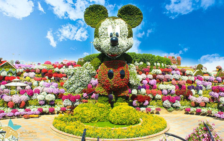 باغ معجزه دبی | میکی ماوس