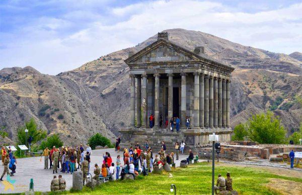 نگاهی به معبد گارنی   تلفیق شکوه و ابهام