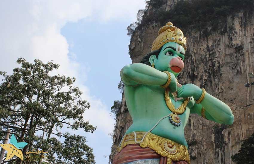 خدای میمون - غارهای باتو