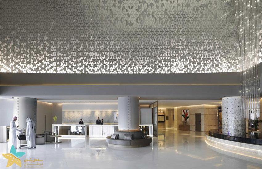 لابی هتل فیرمونت دبی