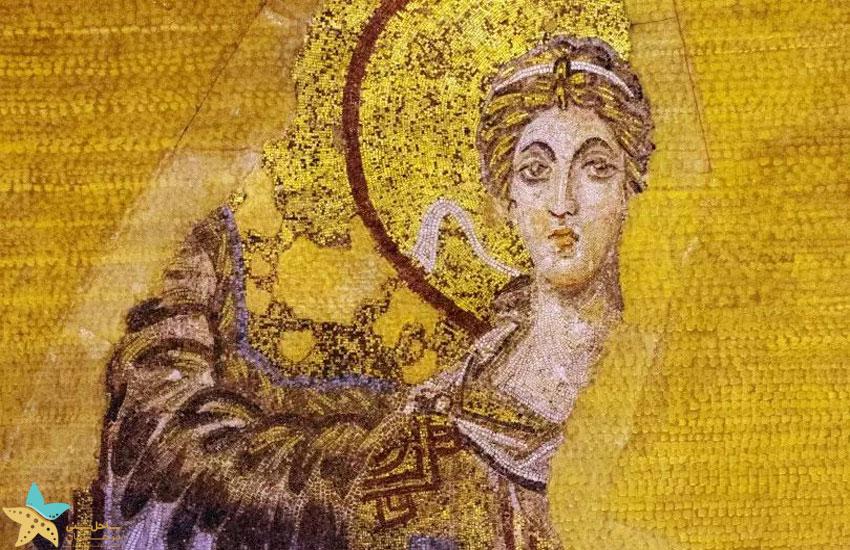 نقاشی موزاییک جبرئیل (Archangel Gabriel)