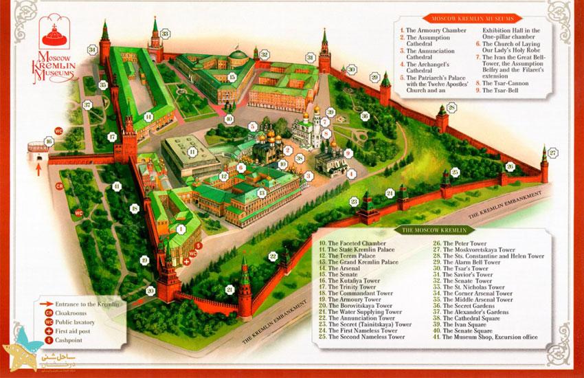 نقشه کرملین