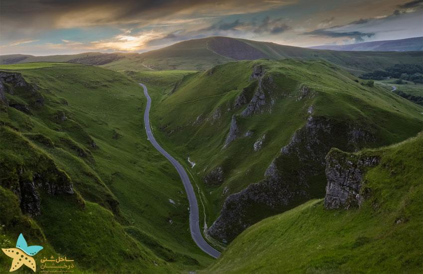 طبیعت انگلیس Winnats Pass