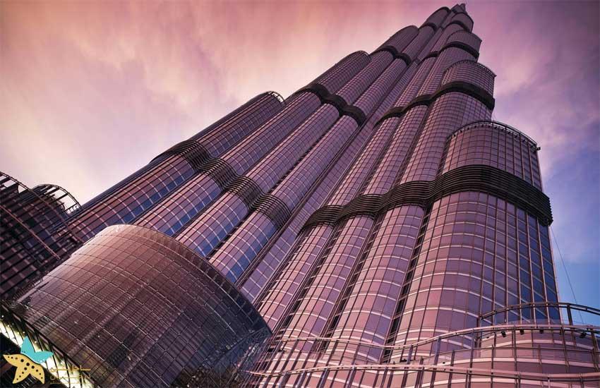 شیشههای برج خلیفه