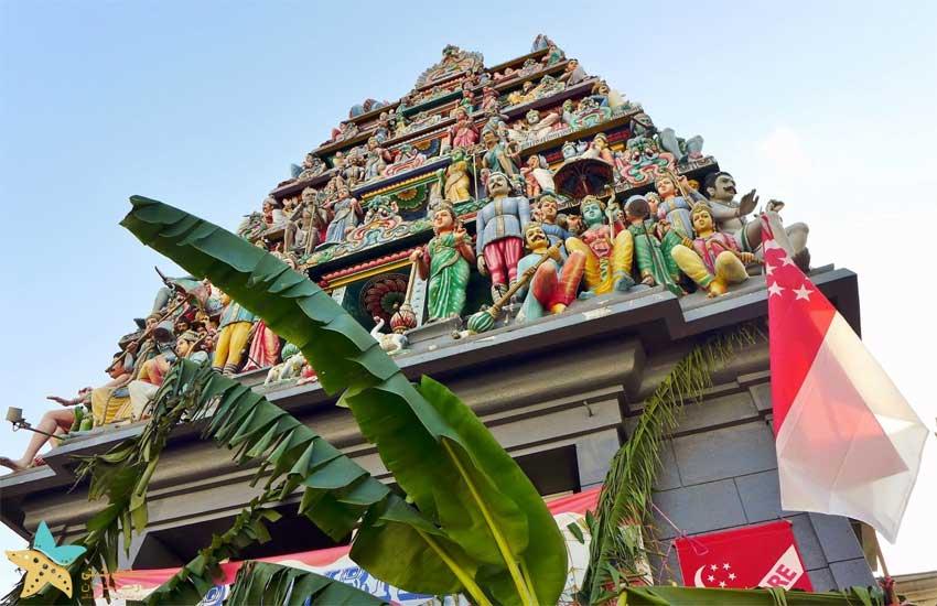 معبد سری ماریامان سنگاپور