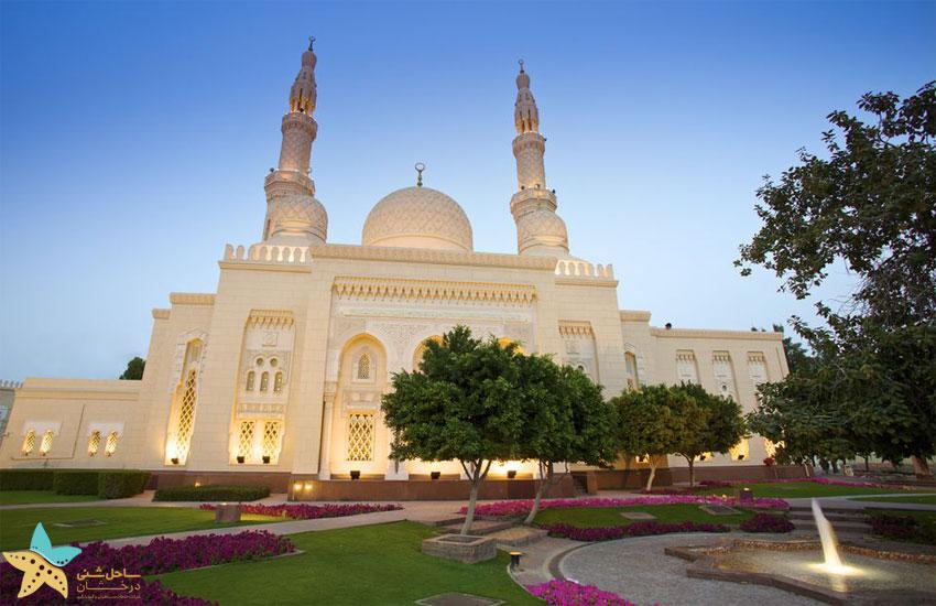جاهای دیدنی دبی | مسجد جمیرا دبی