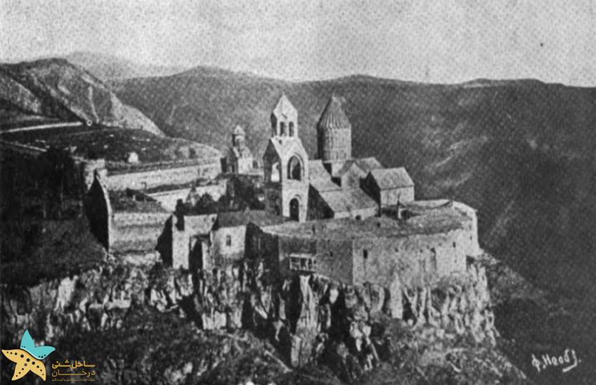 تصویر صومعه مربوط به سال 1920