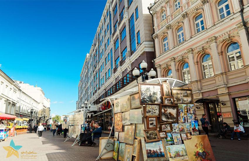 moscow arbat street