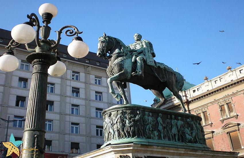 republic square belgrade