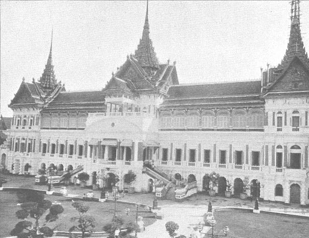 کاخ بزرگ بانکوک | گراند پالاس بانکوک