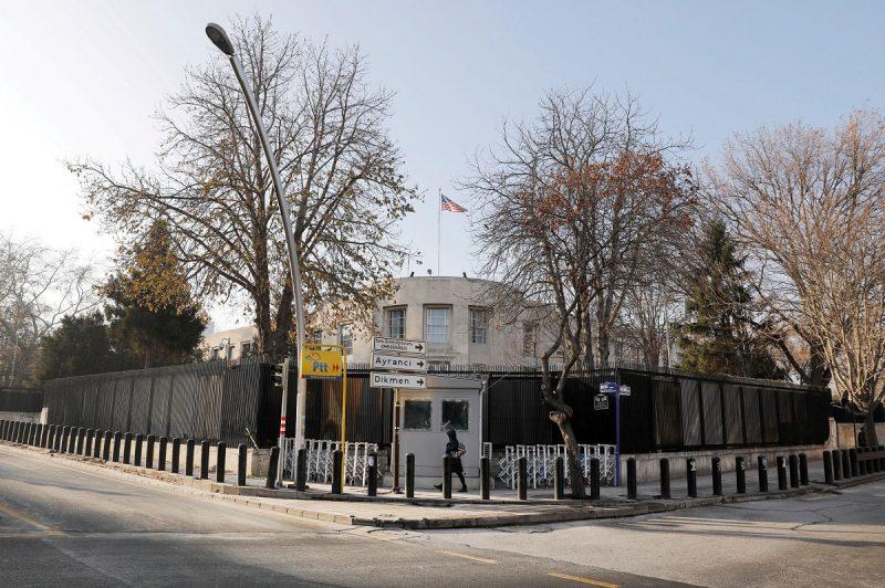 وقت سفارت آمریکا از آنکارا