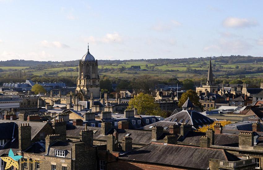 آکسفورد - جاذبههای گردشگری انگلیس