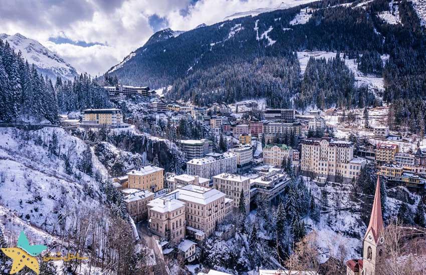 بدگستین - جاذبههای گردشگری اتریش
