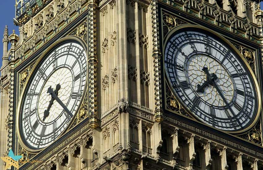 بیگ بن - برج ساعت - جاذبههای گردشگری انگلستان